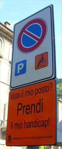 Cartello Handicap