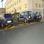 A Catanzaro realizzati parcheggi per disabili difficilmente utilizzabili