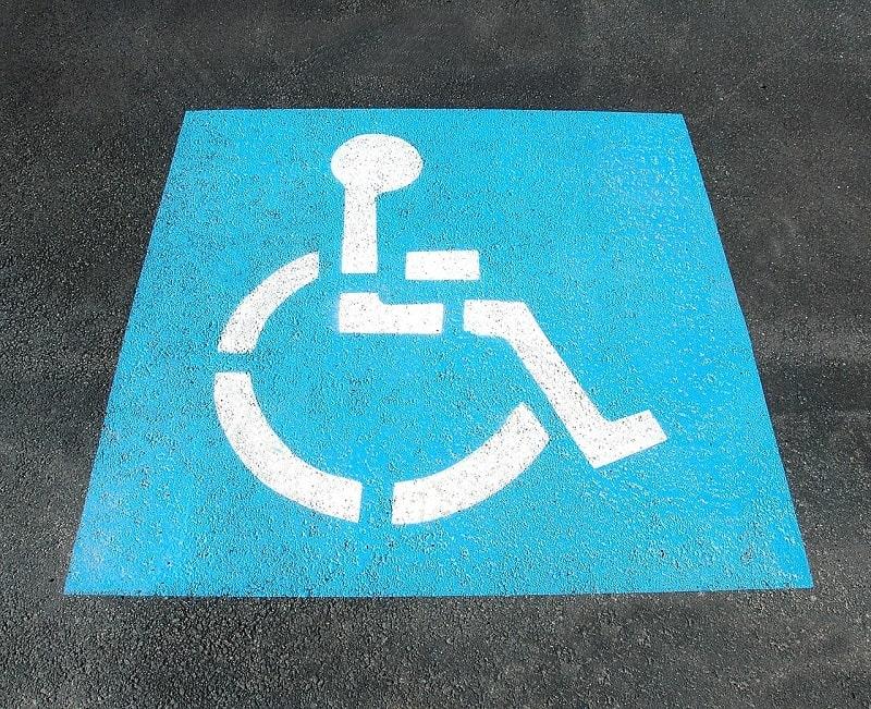 Contrassegno per disabili