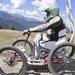 A Sestriere possibili escursioni per Disabili su Speciali Mountain Bike chiamate Down Hill
