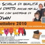 10 Ottobre 2010: Giornata Nazionale delle Persone con Sindrome di Down