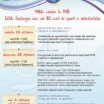 Tre eventi per festeggiare il triennale della PHB