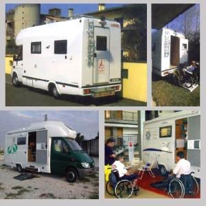 Camper attrezzato per disabili