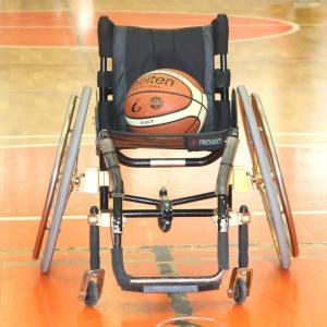 Carrozzina con Palla da Basket