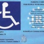 In Arrivo il Contrassegno Unificato Disabili Europeo