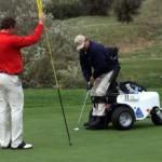 In Gran Bretagna l'Atleta Italiana Chiara Pozzi Giacosa ha vinto il Campionato Mondiale di Golf per non vedenti