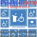 Disabilicamp: Il 5 Giugno a Carrara