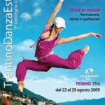 DanceAbility: Dal 23 al 29 Agosto si svolgerà la 9^ Edizione del Trentino Danza Estate a Tesero (TN)