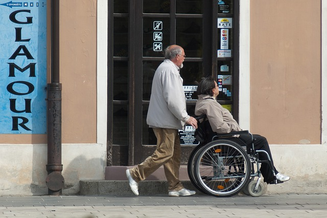 vivere con un disabile