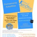 Diversamente Autodifesa: Seminario di difesa personale e arti marziali per disabili il primo luglio a Chiuduno (BG)